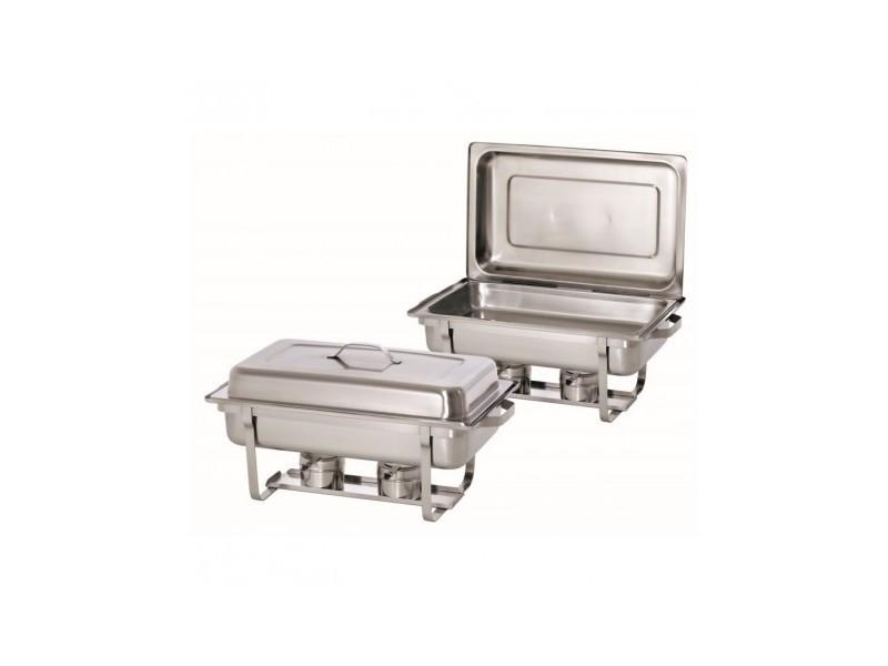 Chafing dish gn 1/1 twin pack set - bartscher -