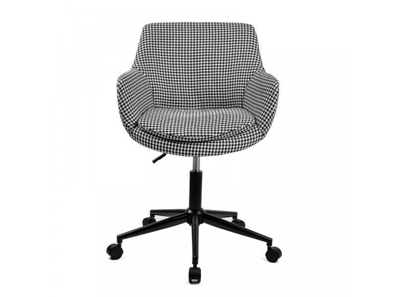 Skei siège de bureau style scandinave noir blanc vente de