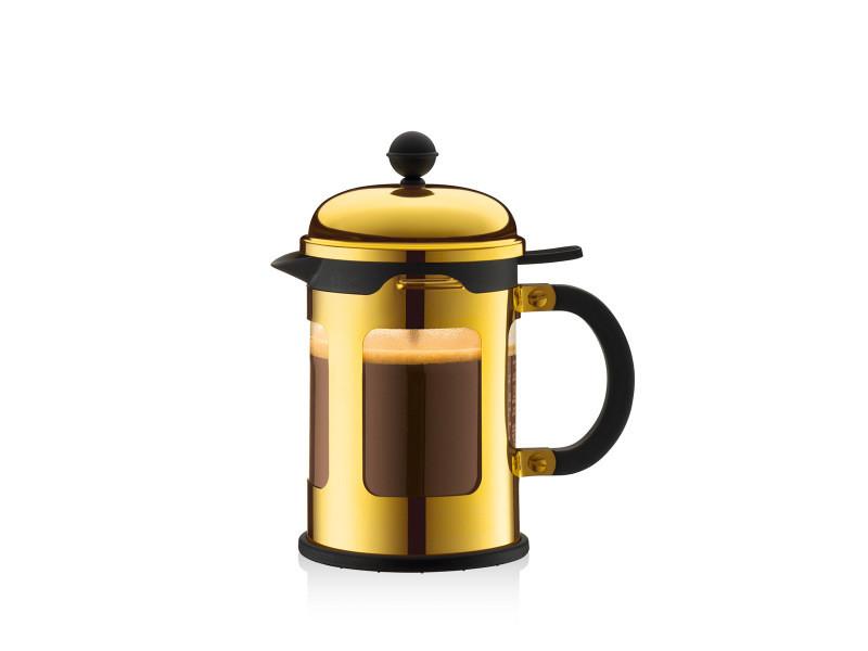 Bodum chambord® cafetière à piston, 4 tasses, 0.5 l, avec bec verseur 11171-17