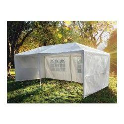 Magnifique tente de jardin pergola 3x6m helios toile blanche barnum tonnelle chapiteau réception