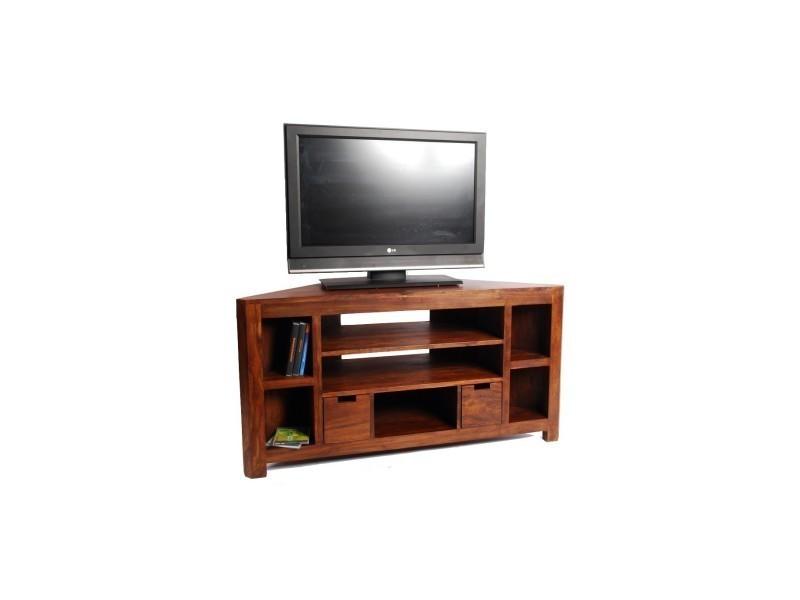 meuble tv d 39 angle en palissandre vente de beldeko. Black Bedroom Furniture Sets. Home Design Ideas