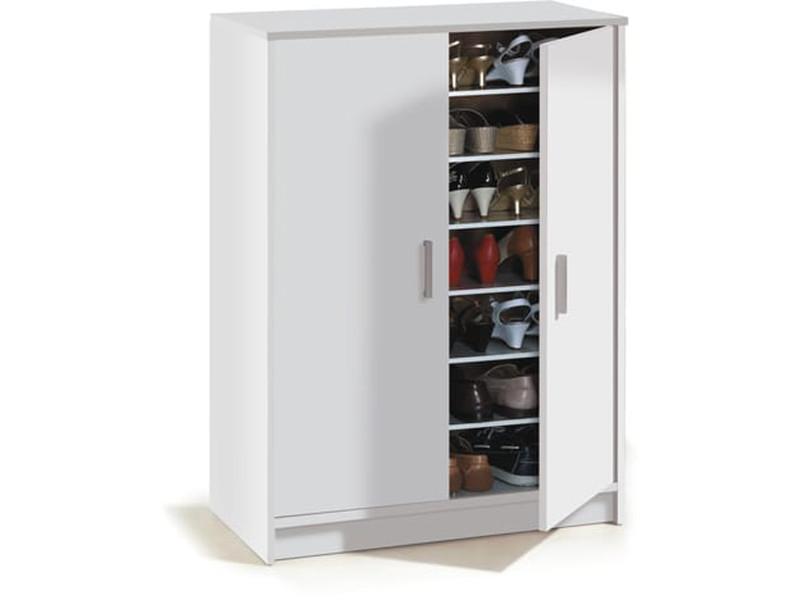 Armoire à chaussures avec 2 portes et 6 étagères (30 ...