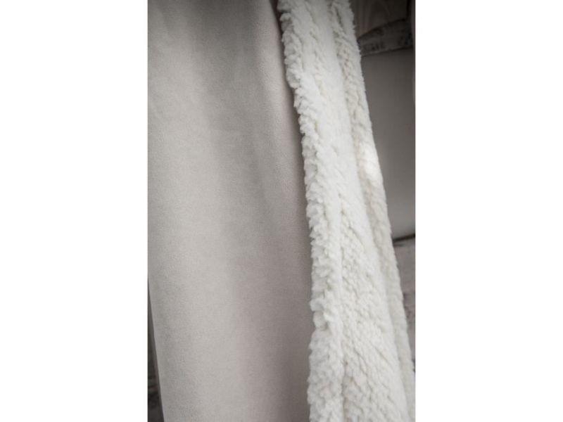 Couverture - edredon - plaid today plaid 100% polyester eskimo mountain 150x200cm - beige