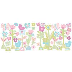 Stickers chambre bébé c'est le printemps