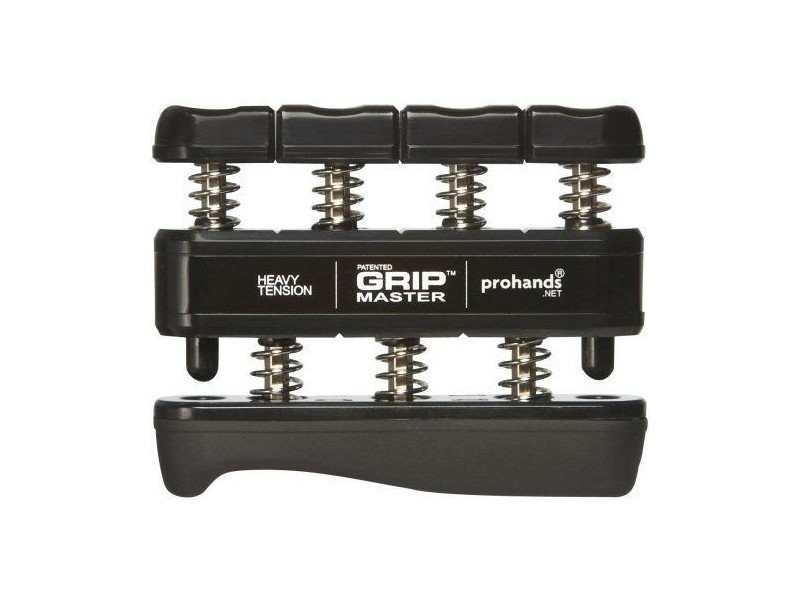 Gripmaster - Muscleur de main et doigts à haute résistance - Noir 14003
