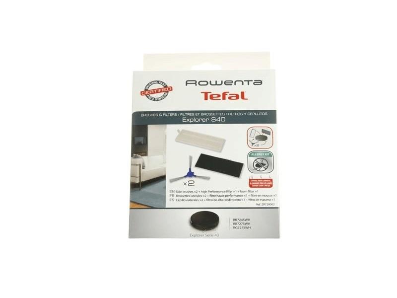 Kit filtres et brossettes pour petit electromenager rowenta - zr720002