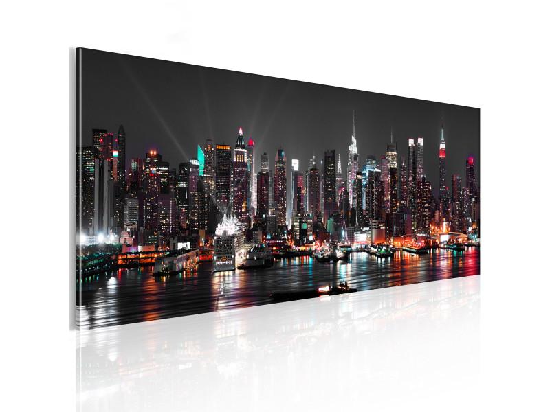 Tableau new york dream - 120 x 40 cm -pegane-