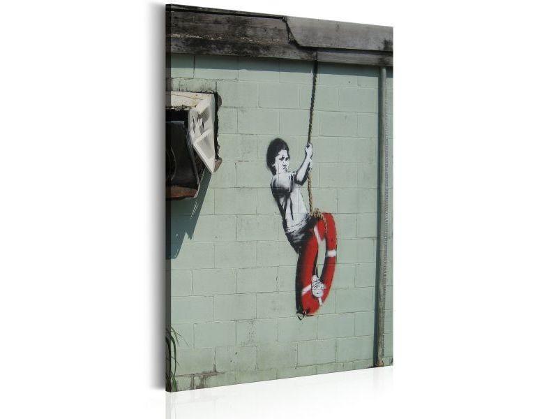 Tableau swinger, new orleans - banksy taille 40 x 60 cm