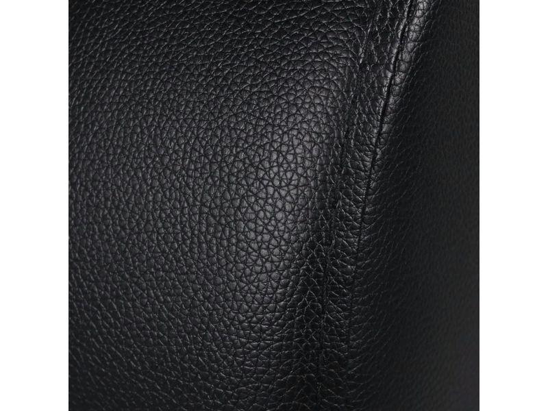 Icaverne - fauteuils club, fauteuils inclinables et chauffeuses lits categorie fauteuil inclinable à 3 places cuir synthétique noir