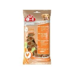8in1 Minis Chicken & Carrot 100gr pour chien
