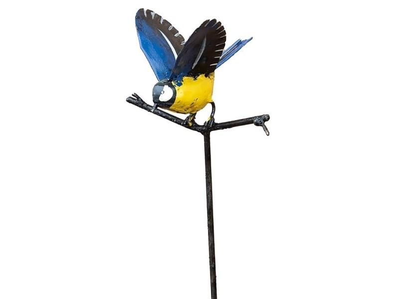 Tuteur mésange ailes ouvertes