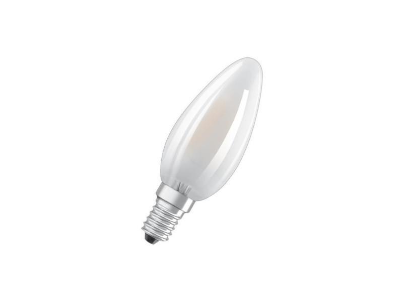 Osram ampoule led e14 flamme dépolie 4 w équivalent a 40 w lumiere du jour