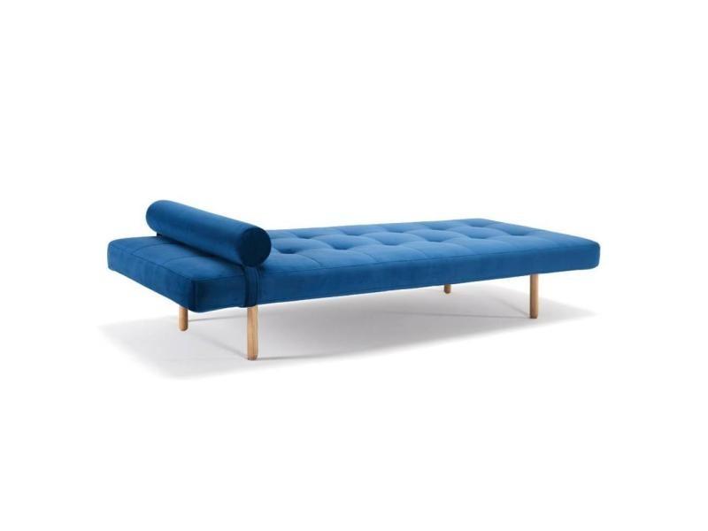 m ridienne lit daybed napper stem velvet royal blue. Black Bedroom Furniture Sets. Home Design Ideas
