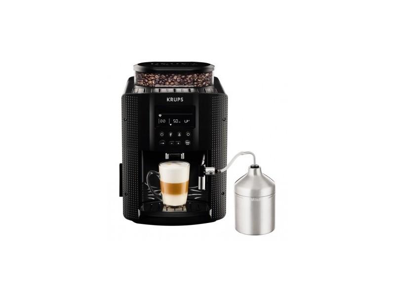 Espresso full auto noir avec mousseur krups