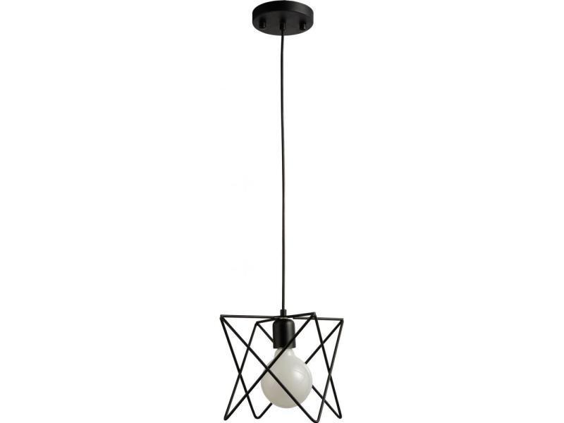 Lampe Suspendue Metal Noir Vente De Non Precise Conforama