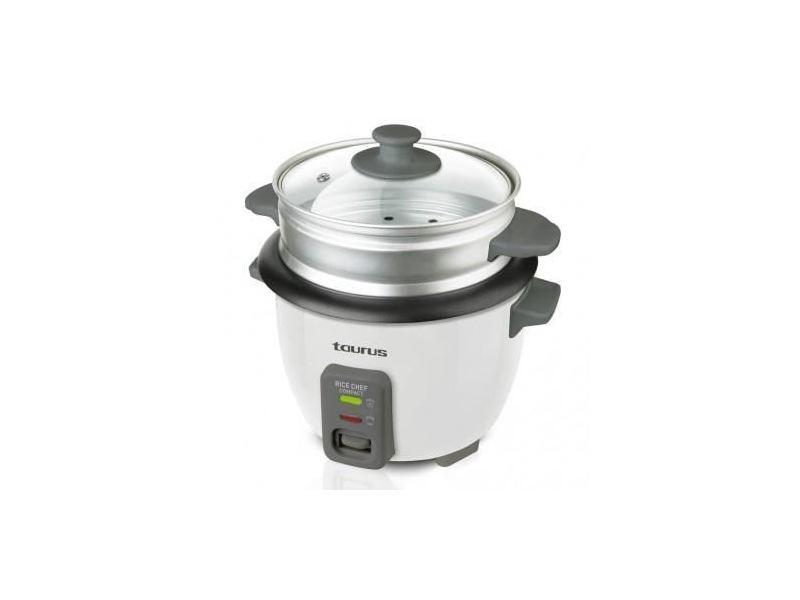 Cuiseur a riz - cuiseur a pates cuiseur a riz rice chef compact - 300 w - 0,6 l
