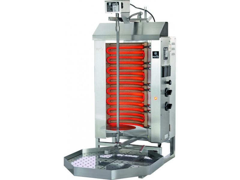 Döner kebab professionnel electrique 30 à 50 kg - stalgast - 30 kg
