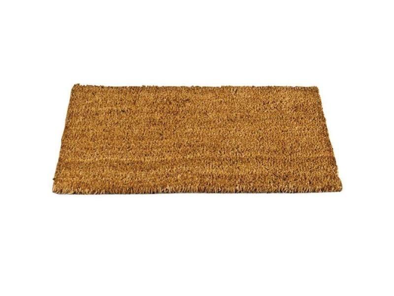 Tapis coco naturel 33x60 cm conforama - Prix tapis coco ...