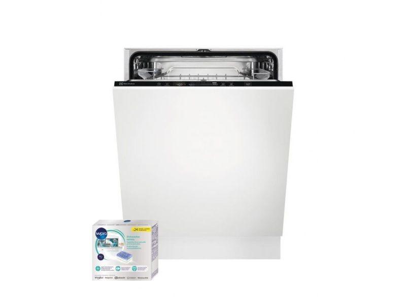 Lave-vaisselle tout intégrable encastrable 44db 13 couverts 60cm airdry