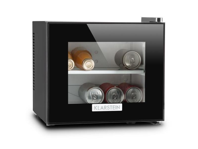 Klarstein frosty mini frigo réfrigérateur compact 10l 65w classe b- noir