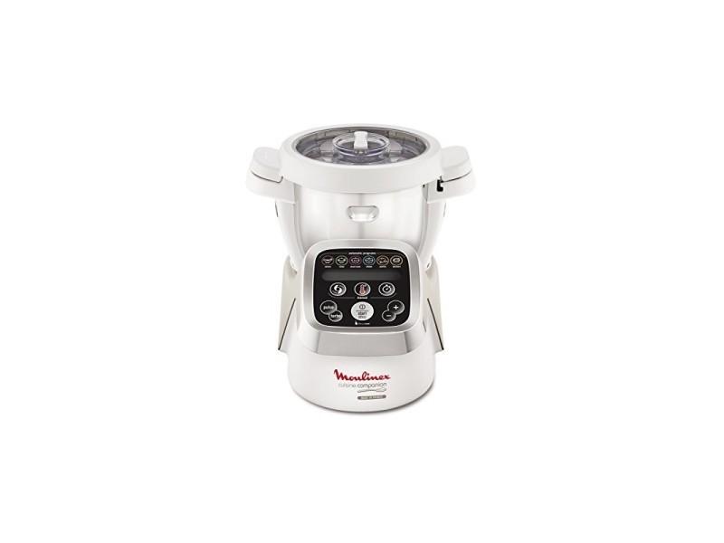 Moulinex hf802aa1 robot cuiseur multifonction companion - 6 programmes automatiques, 5 accessoires inclus