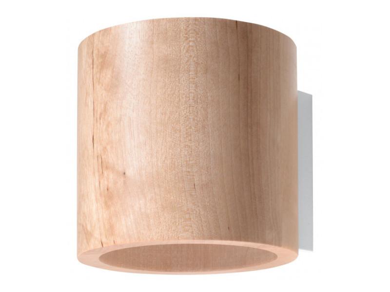 Applique murale orbis bois bois naturel 1 ampoule