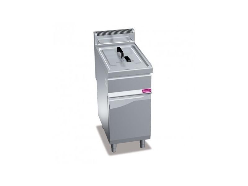 Friteuse gaz sur coffre - 20 litres - 16,5 kw - furnotel -