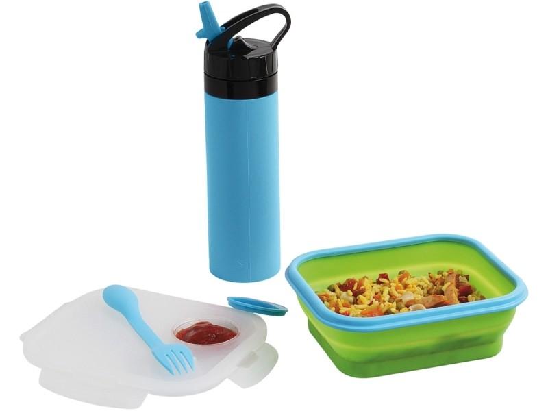 Set lunch-box et gourde