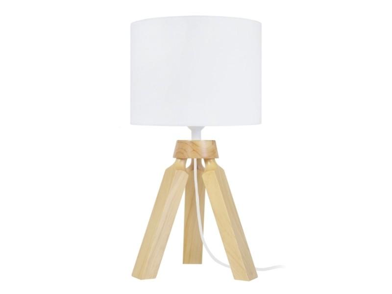 Tosel Gaby Lampe Chevet 1 Lum Naturel Vente De Tosel Conforama