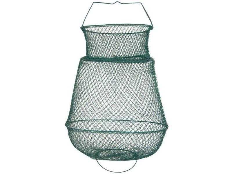 Outillage peche bourriche ovale - metal - ø 35 cm
