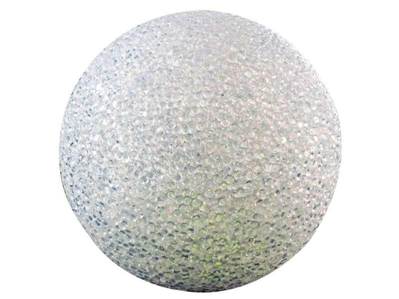 Boule à led multicolore 15x15x14cm
