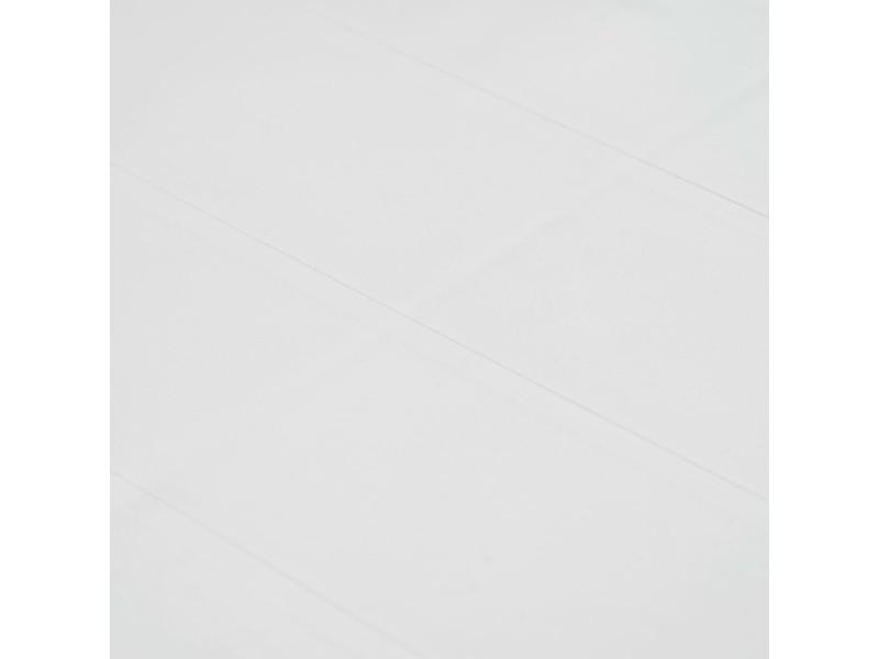 Vidaxl ensemble de bistro 3 pcs plastique blanc aspect de rotin 276107