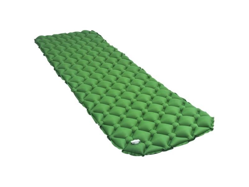 Splendide camping et randonnée edition manama matelas gonflable 58x190 cm vert