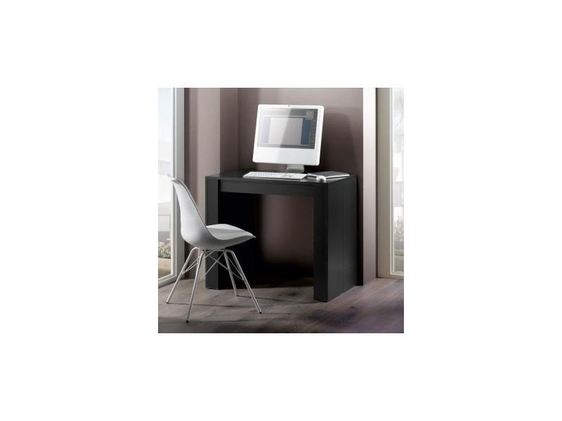 Console extensible 50/270 cm noir - extend