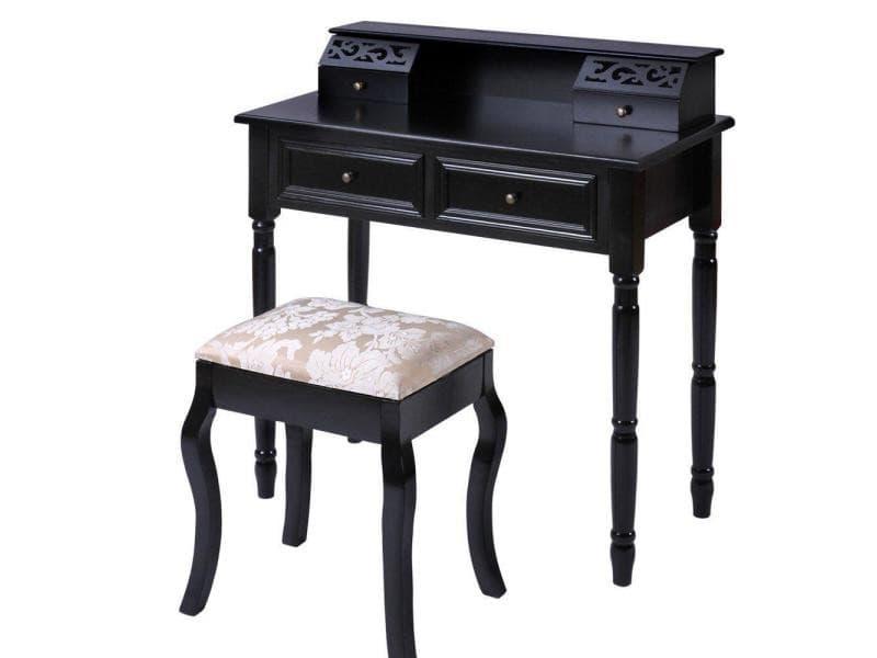 commode noire fly latest lampe bureau acier h noir fly with commode noire fly commode tiroirs. Black Bedroom Furniture Sets. Home Design Ideas