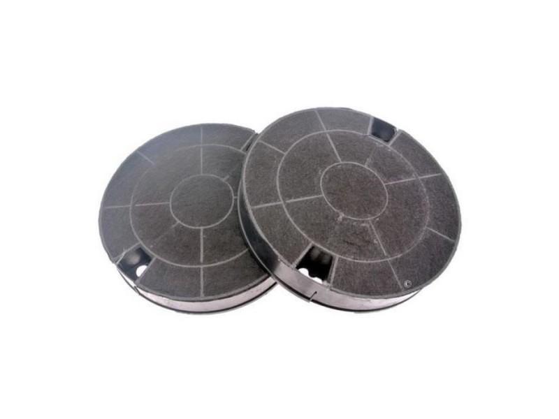 Lot de 2 filtres charbon type 29 (19,2 x 3,3 cm) pour hotte - whirlpool, ikea, ariston, hotpoint indesit, bauknecht