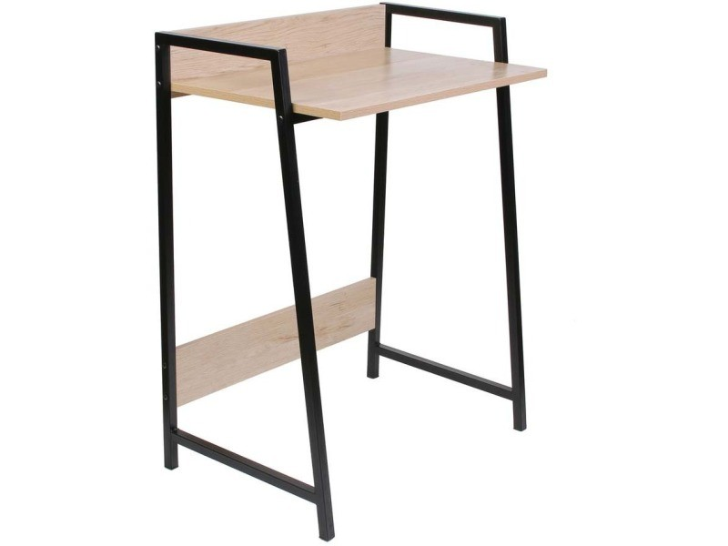 Bureau en bois et métal gemini