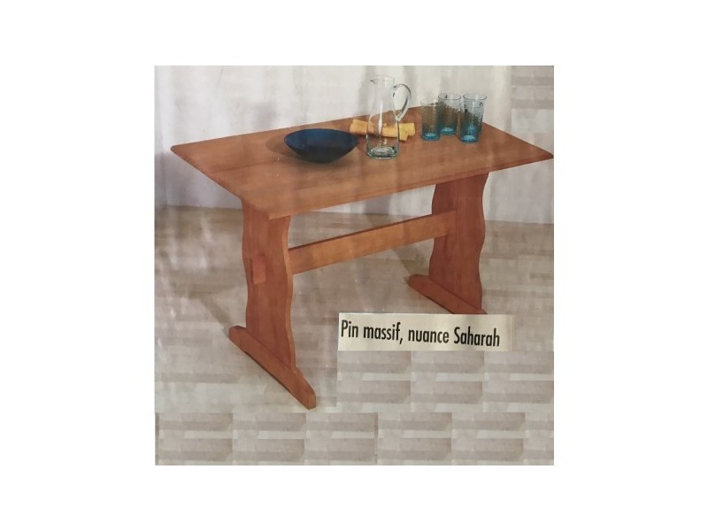 Table monastère goteborg bois 110 cm