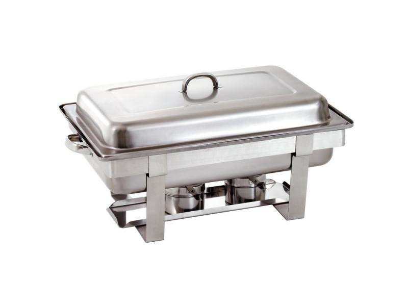 Chafing dish gn 1/1 plaque chauffante electrique - bartscher -