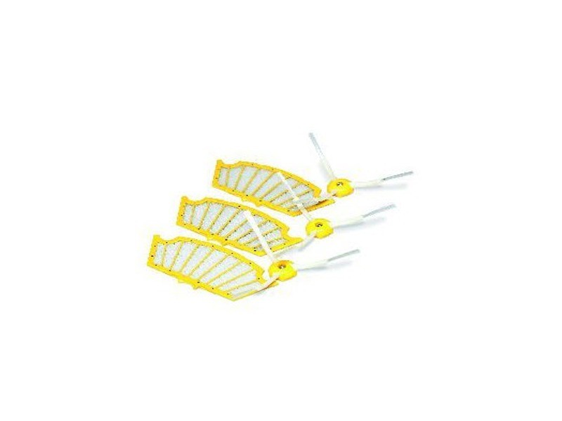Pack 3 filtres et 3 brosses laterales reference : acc240