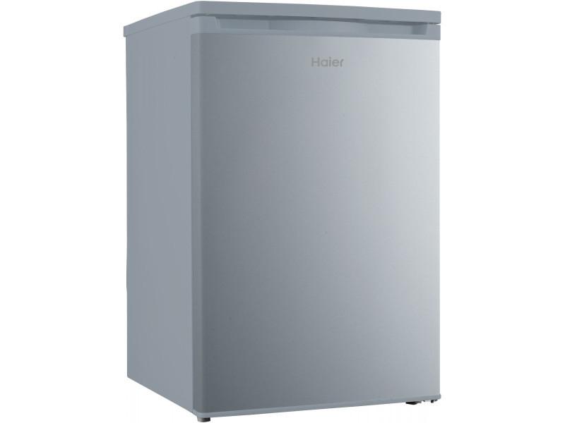 refrigerateur table top 114l haier hrk176aas a silver. Black Bedroom Furniture Sets. Home Design Ideas