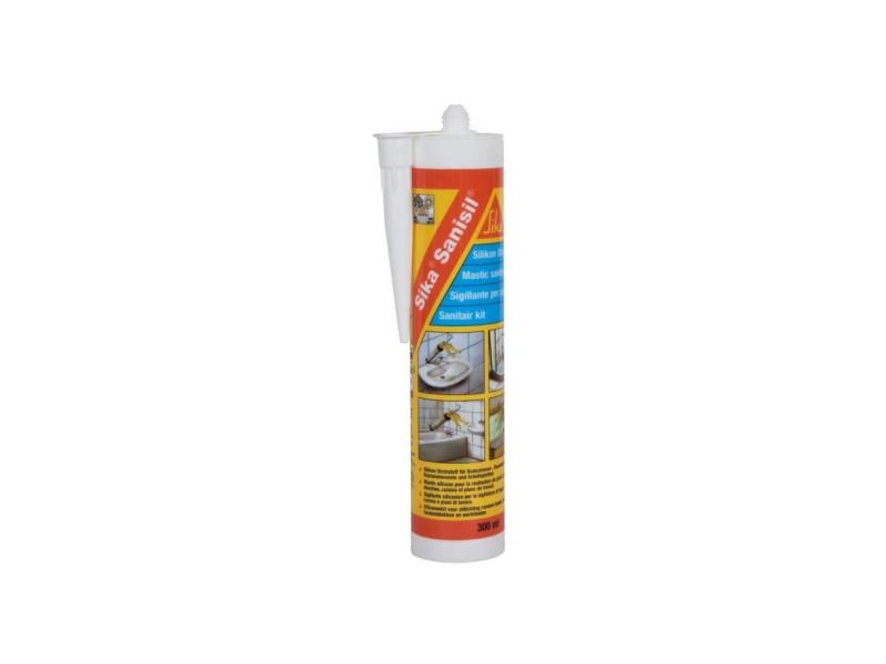 Sika mastic - spécial sanitaire anti-moisissure - blanc - 300 ml