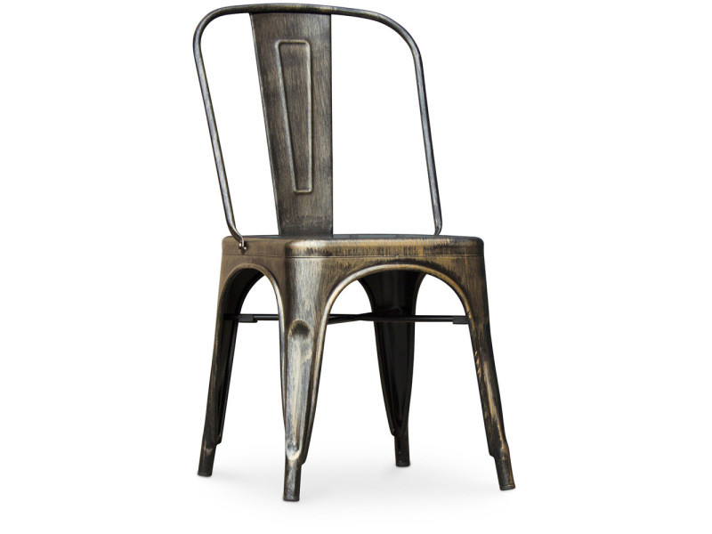 Chaise Tolix Assise Carree Xavier Pauchard Style