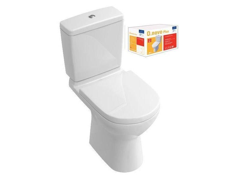 Wc - toilettes pack wc sur pied o.novo plus sortie verticale