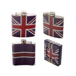 Flasque acier inoxydable londres drapeau anglais