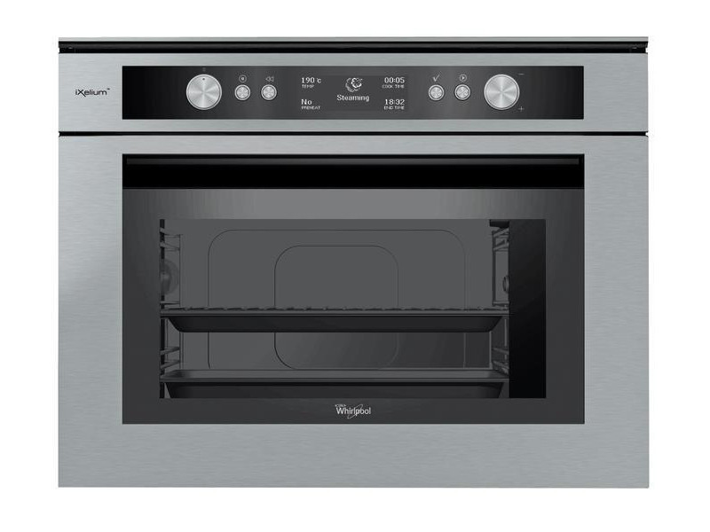 Whirlpool amw 597/ixl electric oven 34l a acier inoxydable four