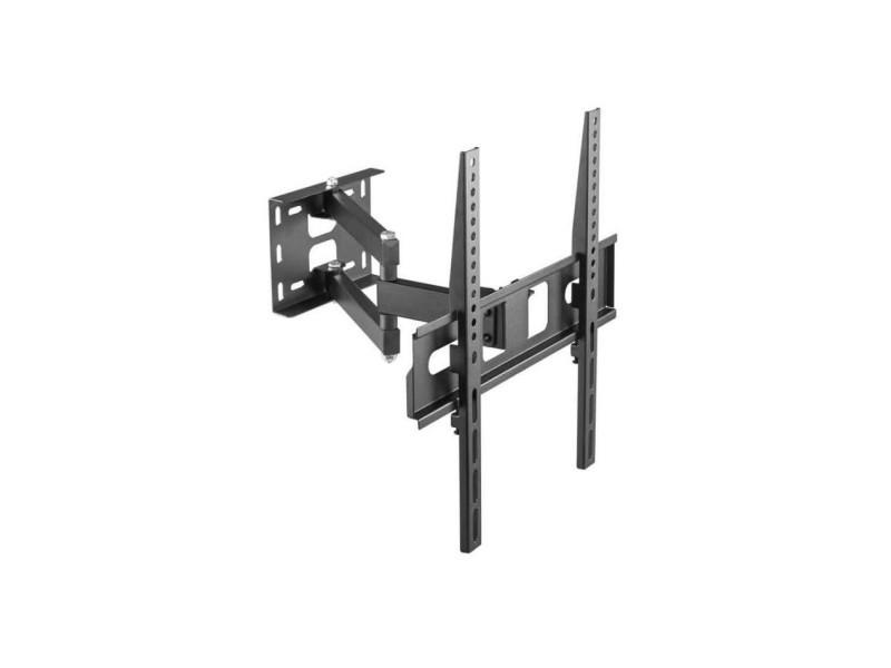 Support Tv Inclinable Dépliable Et Orientable Pour Tv 106 à 140 Cm