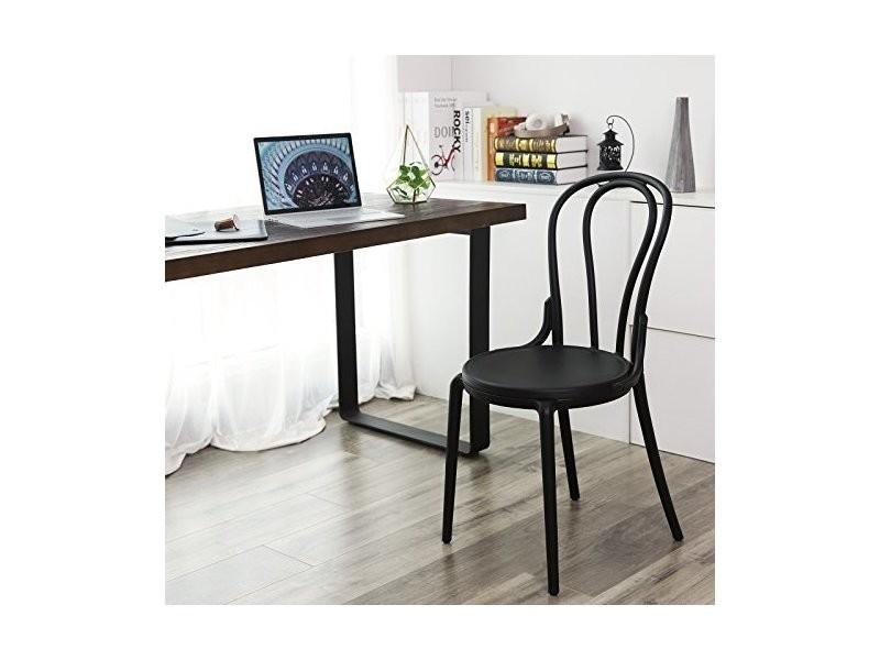 Songmics lot de 2 chaises de salle à manger, design rétro chaise de ...