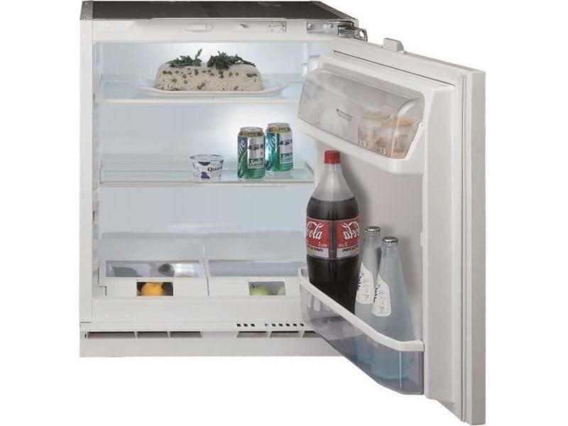 Réfrigérateur combiné 144 litresl froid statique hotpoint 59.6 cmcm, hot8050147604816 HOT8050147604816