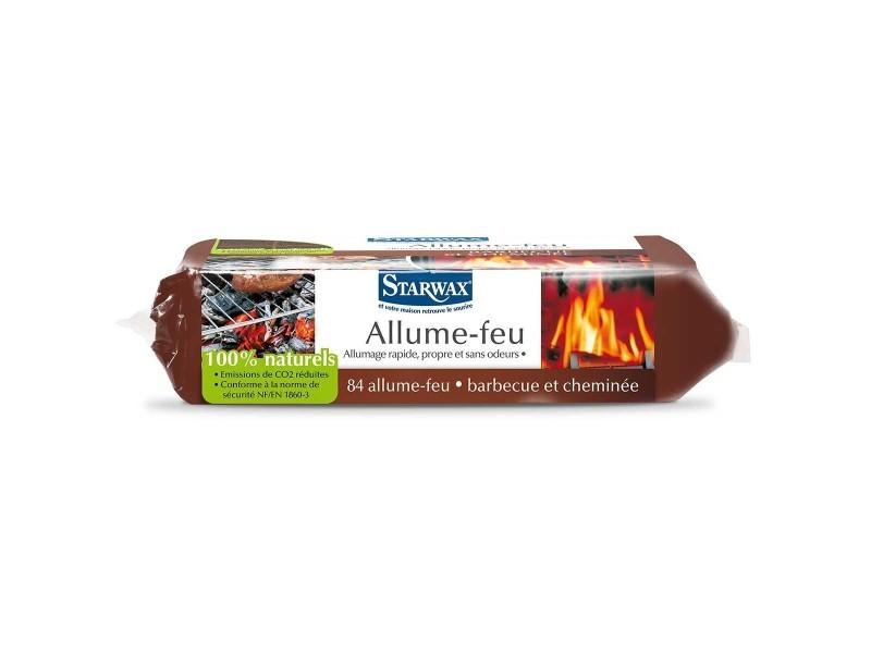 Carrés allume-feu 100% naturels (x84)